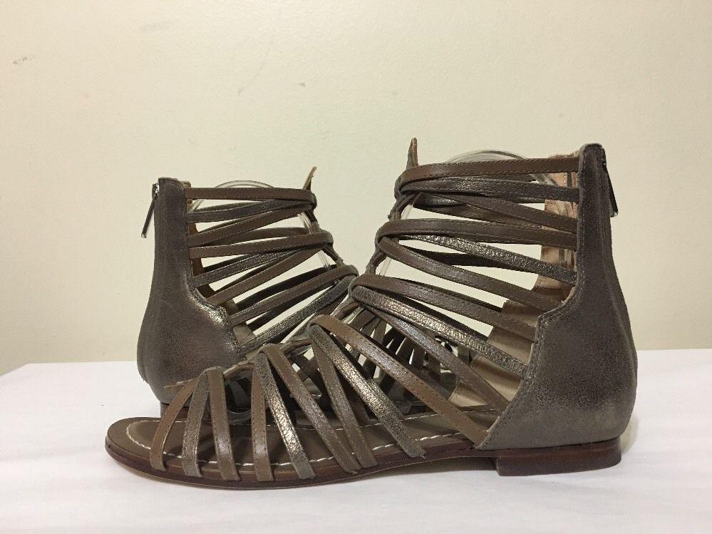 Belle by Sigerson Morrison Alpina Leather Flats Sandals Size 8 M #BellebySigersonMorrison #FlatsSandals #Casual