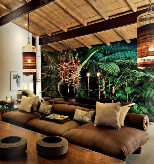 A Landscaper S Home In The Philippines A True Inspiration Ponce Veridiano S Home Living Room Decor Rustic Tropical Home Decor Tropical Interior Design