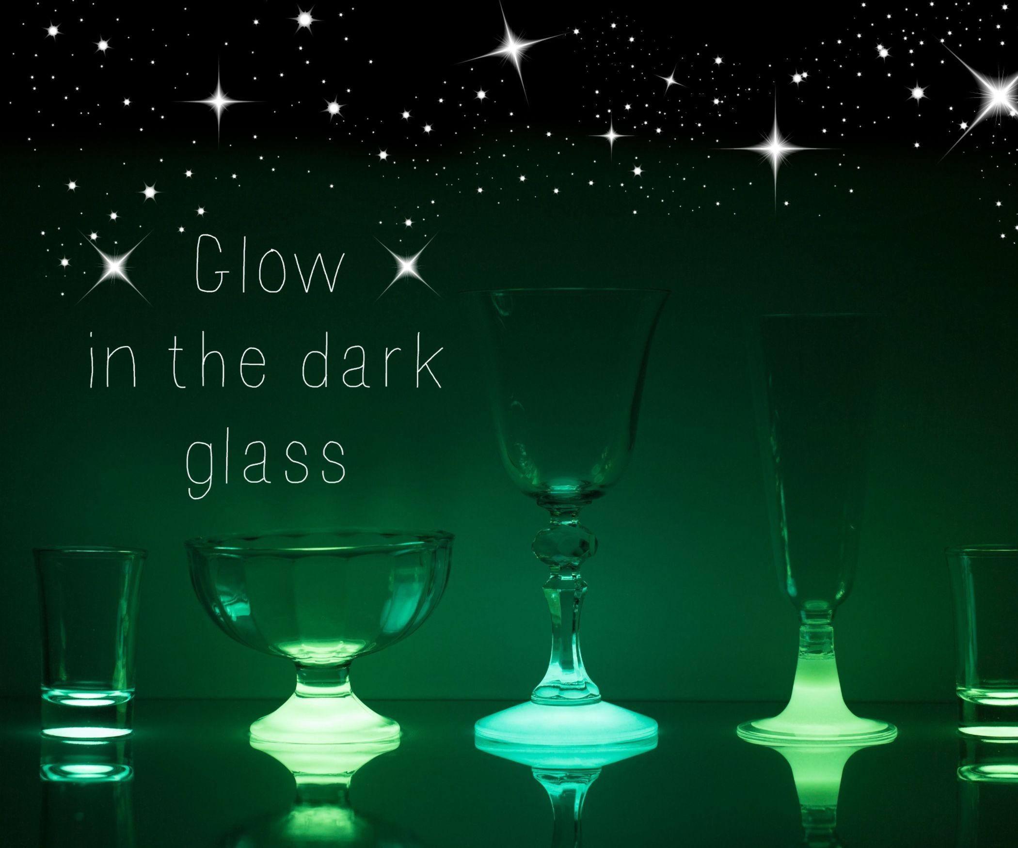 How to Make Glow in the Dark Glass Glow in the dark