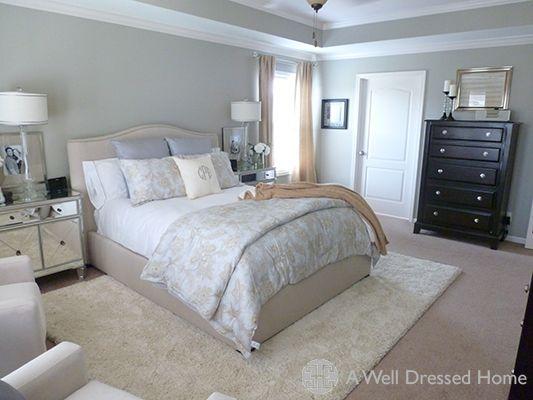 Wall Color Have Similar Dresser Mirror Nightstands Rug