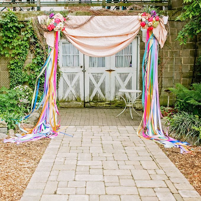 Wedding Altar Outside: 60 Amazing Wedding Altar Ideas & Structures For Your