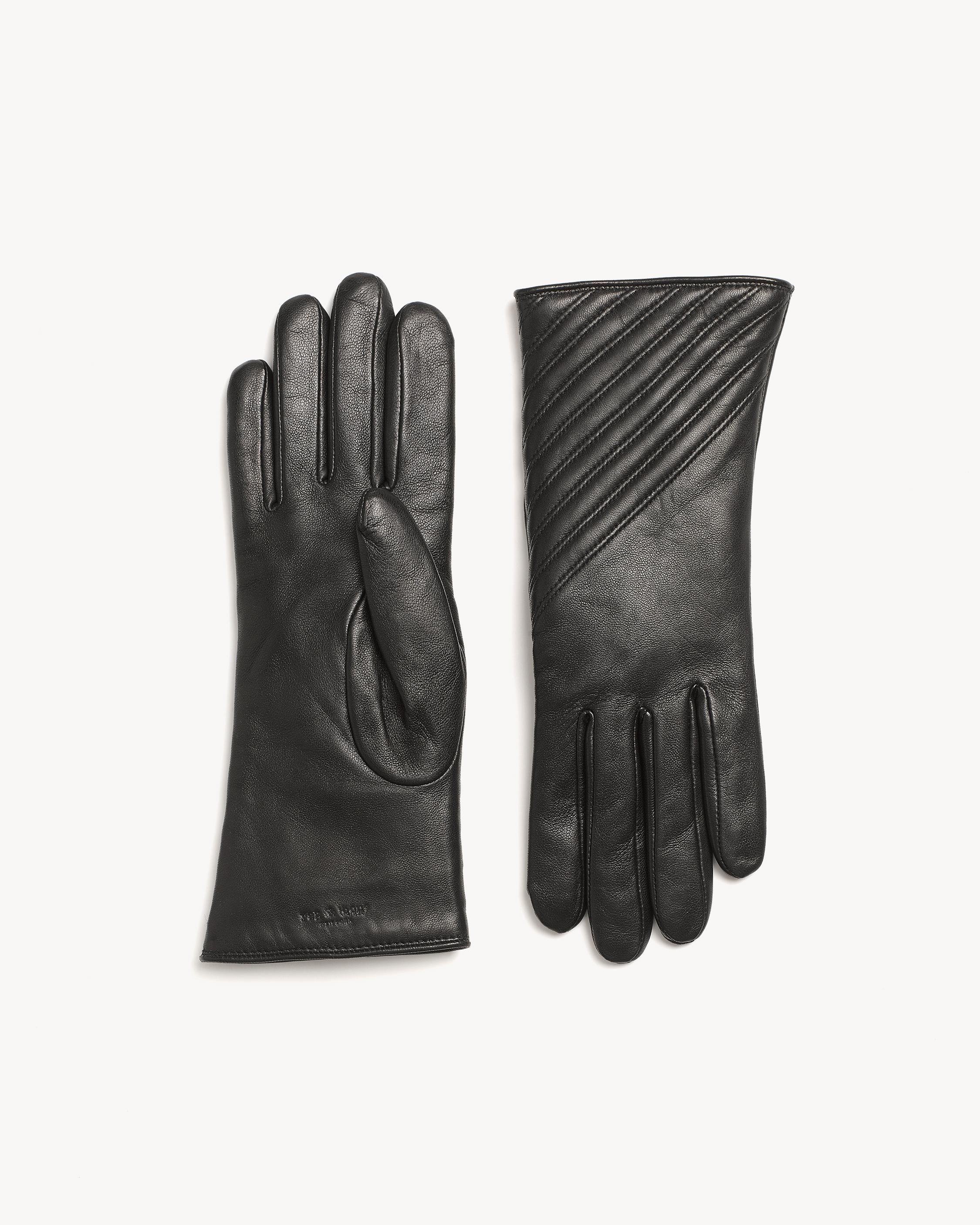 399e033c185 Leren handchoenen zwart | Products