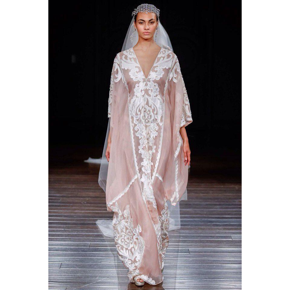 Naeem Khan SS17 bridal