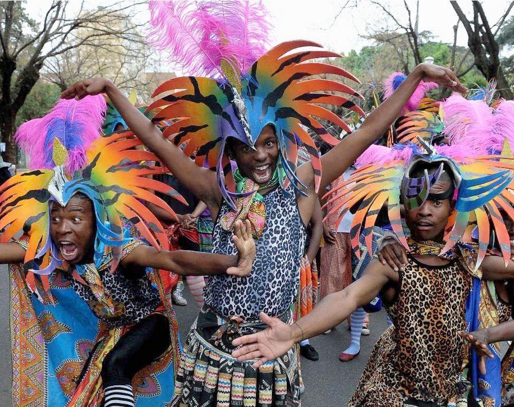 Африканский новый год в картинках