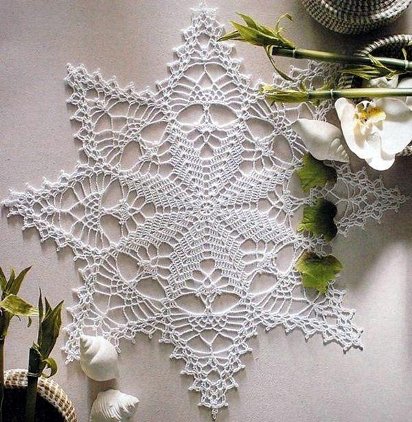 40 Pretty and Easy Crochet Doily for Beginners | Caminos de mesa ...
