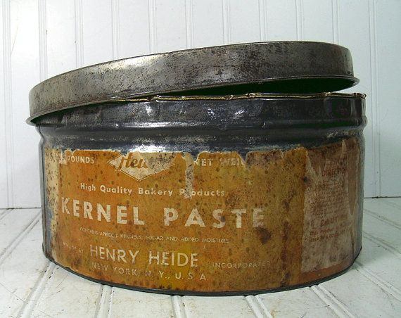 Large Industrial Bakery Canister Vintage By Divineorders