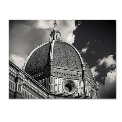 """Trademark Art """"The Big Dome"""" by Giuseppe Torre Photographic Print on Wrapped Canvas Size: 22"""" H x 32"""" W x 2"""" D"""