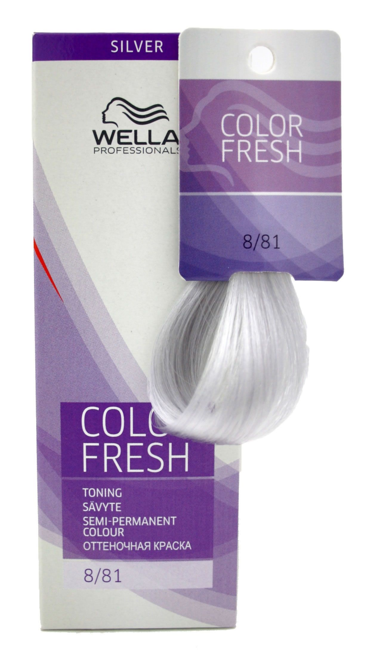 Baño De Color Pelo Wella Baño De Color Color Fresh 8 81 75 Ml 8 19 Pelo