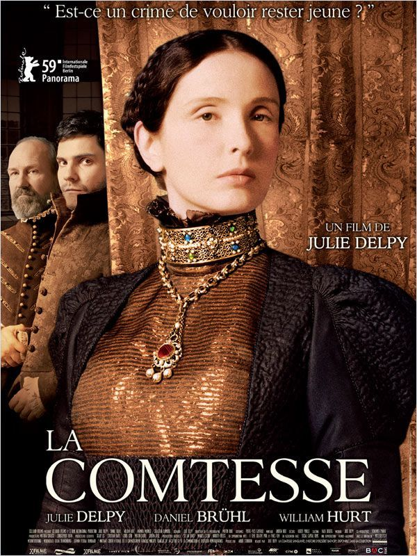 The Countess Julie Delpy Elizabeth Bathory Film Inspiration