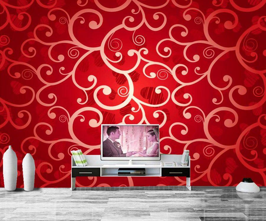 Wallpaper Design Wall Texture Design Tv Room Living Room Tv
