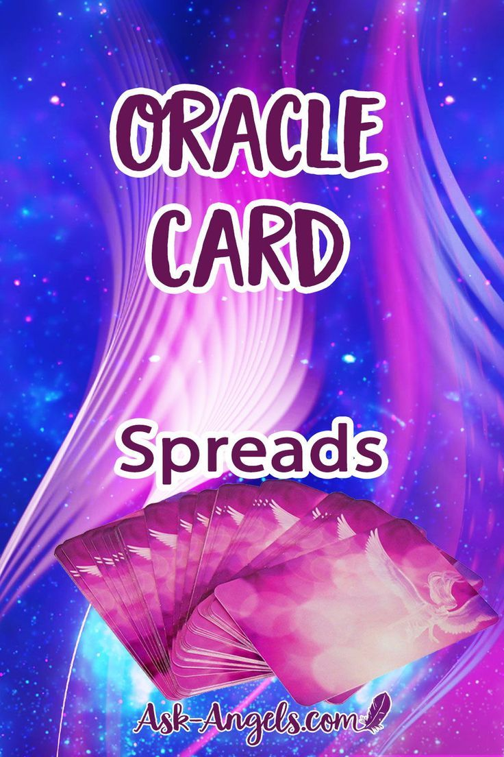 Oracle card spreads angel cards oracle cards card reading