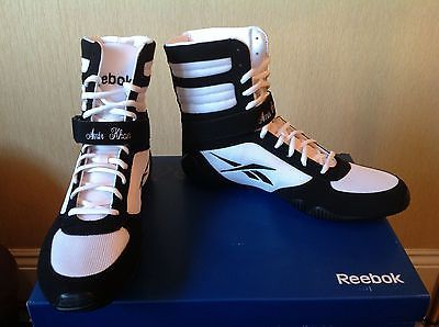 reebok boxing boots. floyd mayweather amir khan boxing boots reebok sports memorabilia . boxing boots