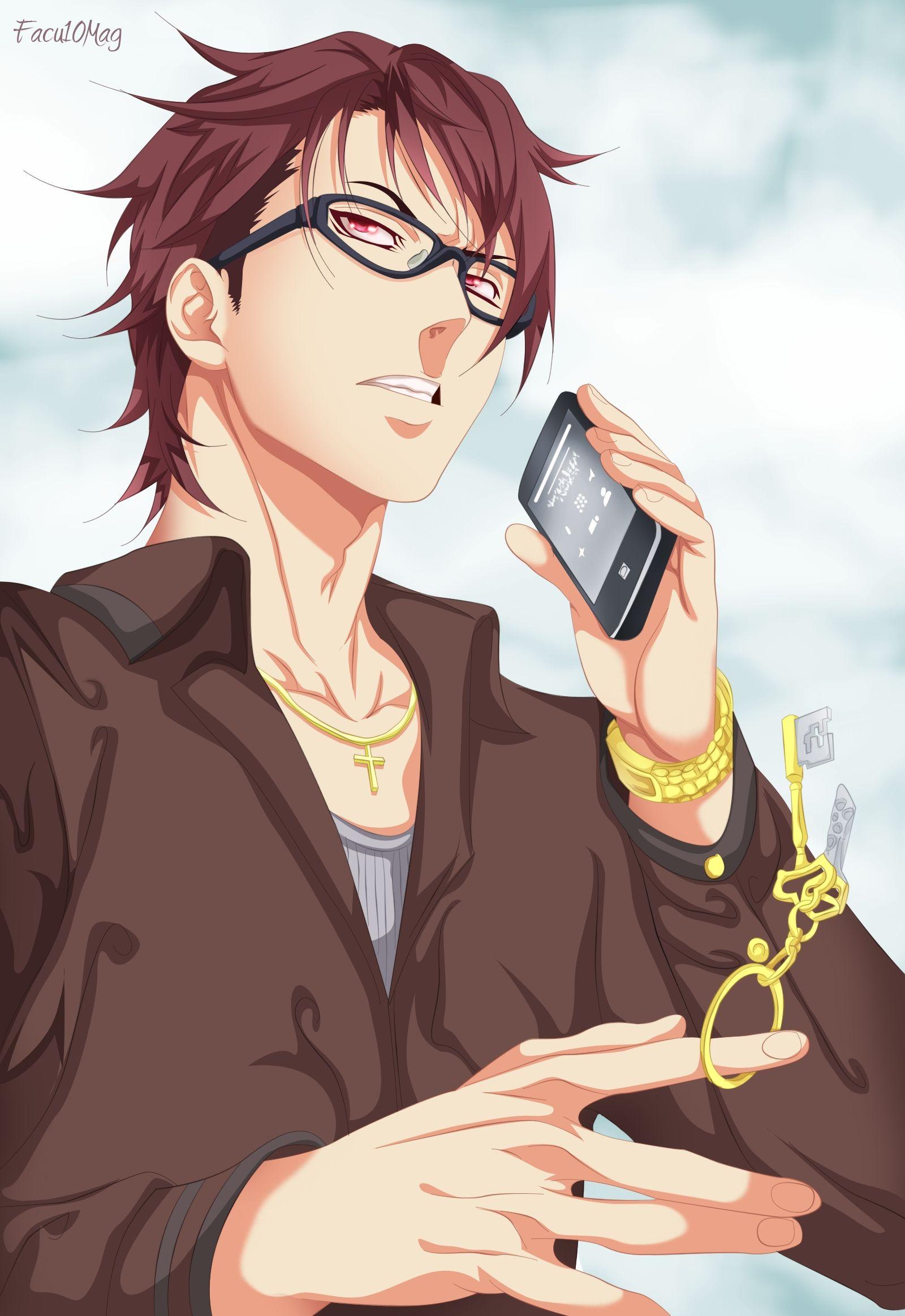 Facu10mag, Shokugeki no Souma, Shinomiya Koujirou, Phone