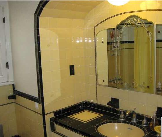 Yellow Vintage Bathroom | Bathroom ideas | Pinterest | Vintage ...