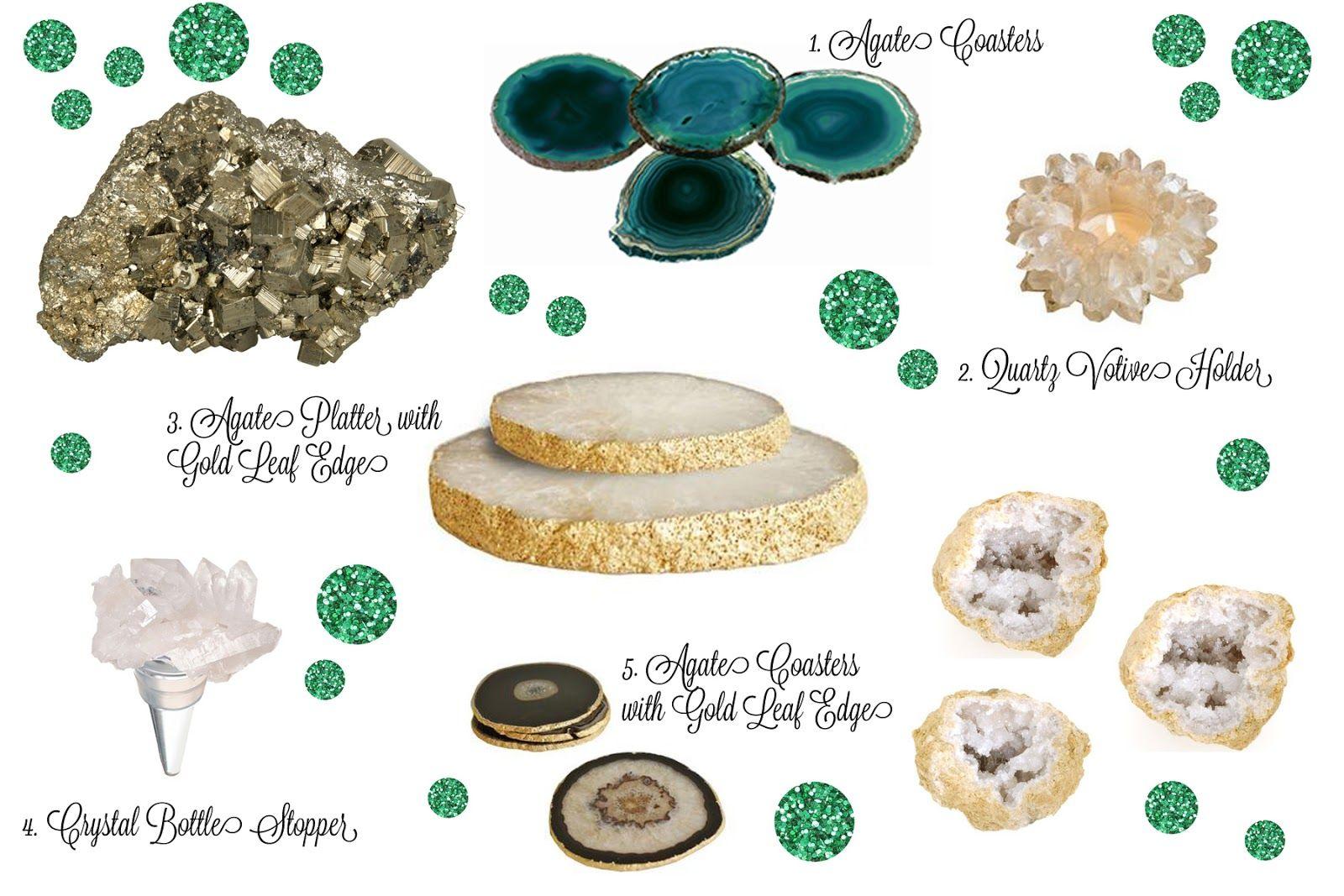 Sundae Brunch: Party Inspiration – Emerald, Gold, & Geological ...