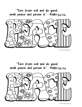 Image Result For Craft Peace Fruits Of The Spirit Bible Coloring Pages Peace Crafts Bible Coloring