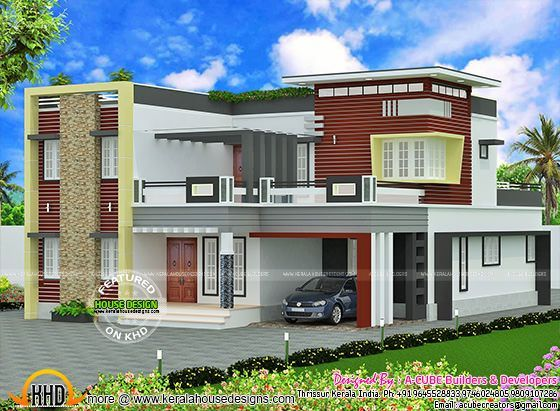 Square feet modern contemporary home also top house designs ever built pinterest rh