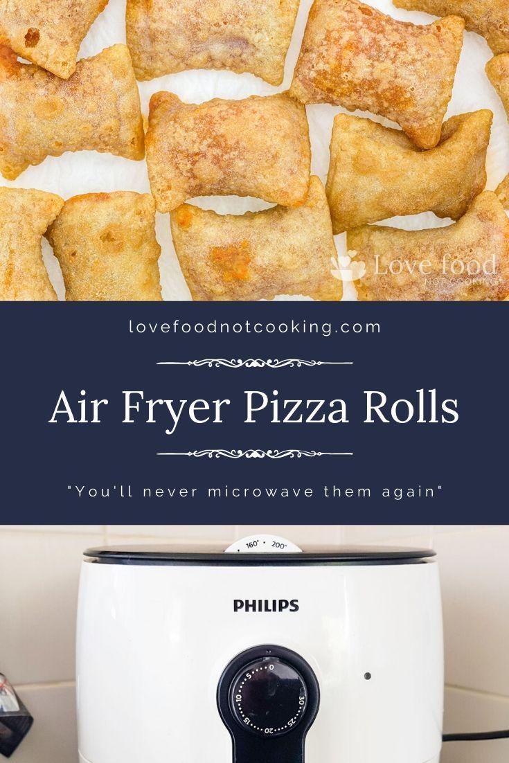 Air Fryer Pizza Rolls (Totino's) Recipe in 2020 Pizza