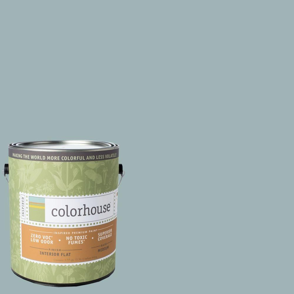 colorhouse 1 gal water 04 flat interior paint 461741 on home depot paint sale id=46046