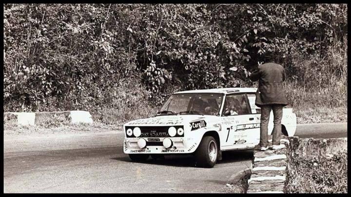 Carlos Reutemann Fiat 131 Abarth Rally Codasur 1980 Coleccion
