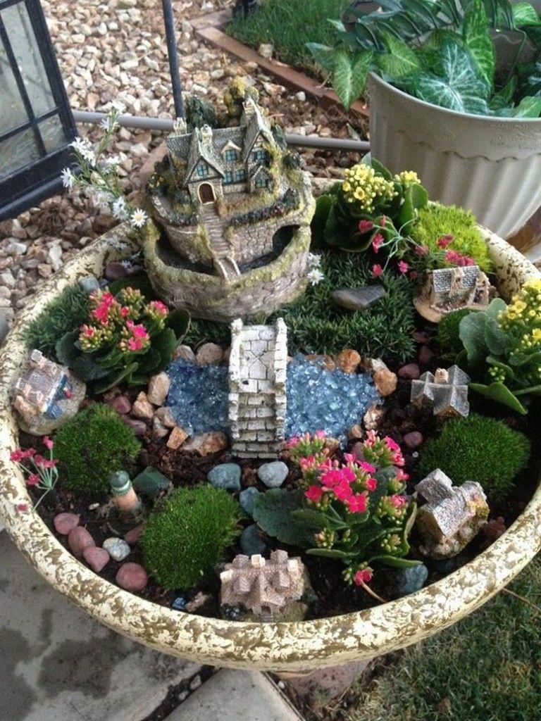30 Creative Diy Indoor Fairy Garden Ideas Gardens Pinterest