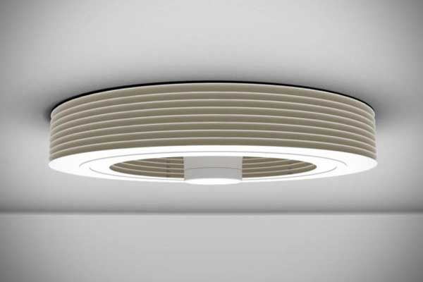 Modern bladeless ceiling fan for home office lighting pinterest ceiling modern bladeless ceiling fan aloadofball Images