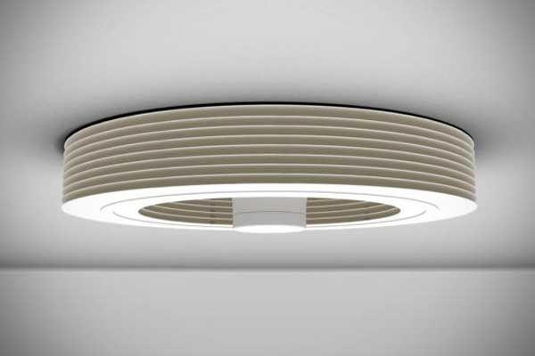 Modern Bladeless Ceiling Fan For Home Office Bladeless Ceiling