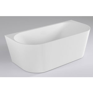 harrison oval back to wall freestanding bath introduces