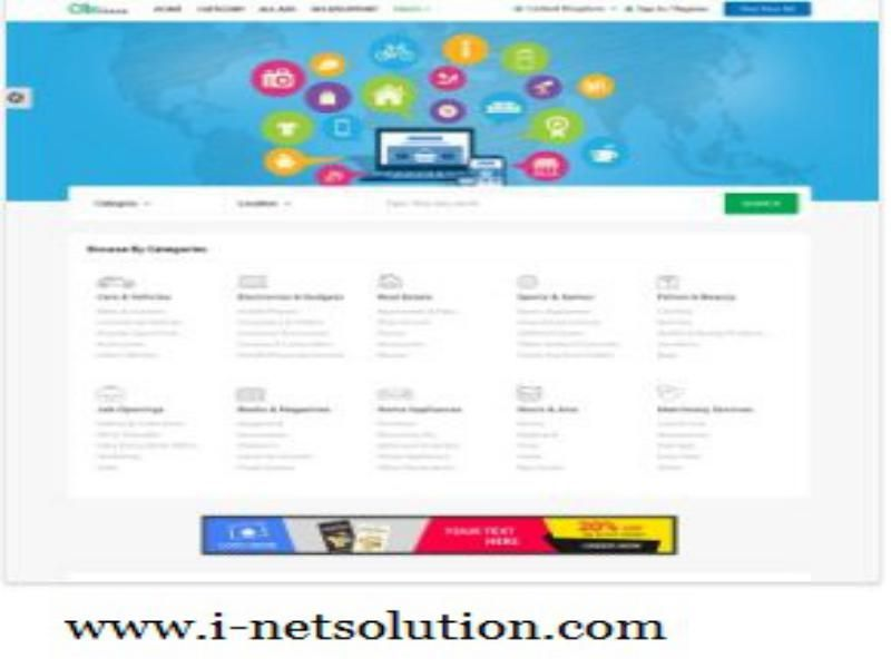 http://www.i-netsolution.com/product/classified-script/  Classified PHP script is one of the best PHP script portal, this script is very easy to install and maintenance without knowledge in technical and it supports more than 100,000 users.  Contact: (+ 91) 9841300660