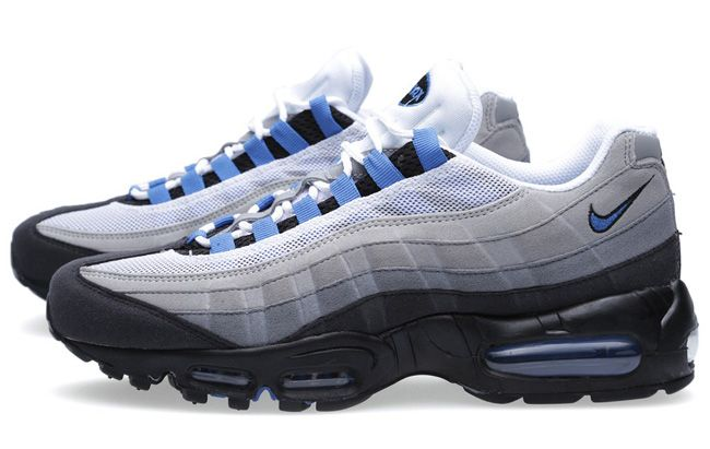 Nike Air Max 95 u201cBlue Sparku201d | Fashion | Pinterest | Air max 95 ...