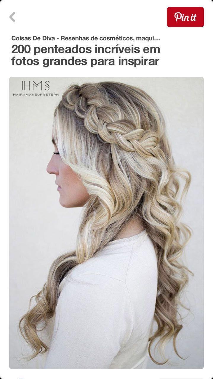 Pin by Miranda Kiffmeyer on Hair | Pinterest | Hair style, Prom ...