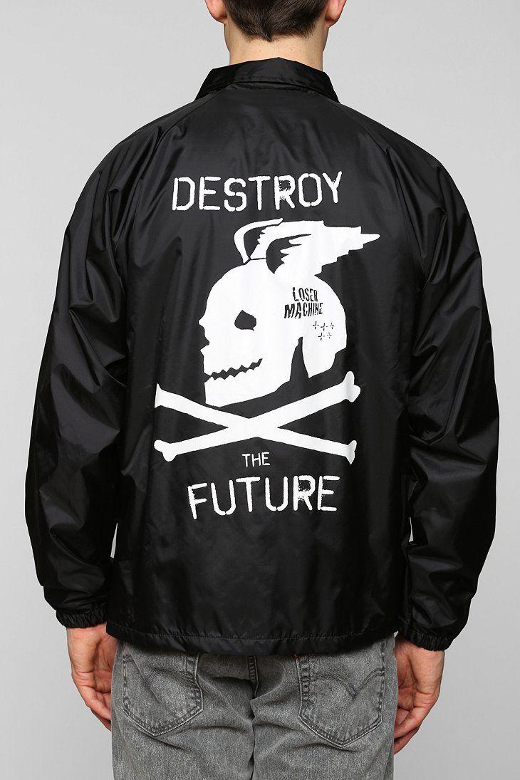 84f82598931c3 Loser Machine Destroy Coaches Jacket