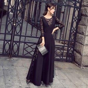c65f5633c67c4 エレガンス ワンピース♪ドレス レース ファッション セクシー パーティー 結婚式 ドレス お呼ばれ 二次会 同窓会 普段着用