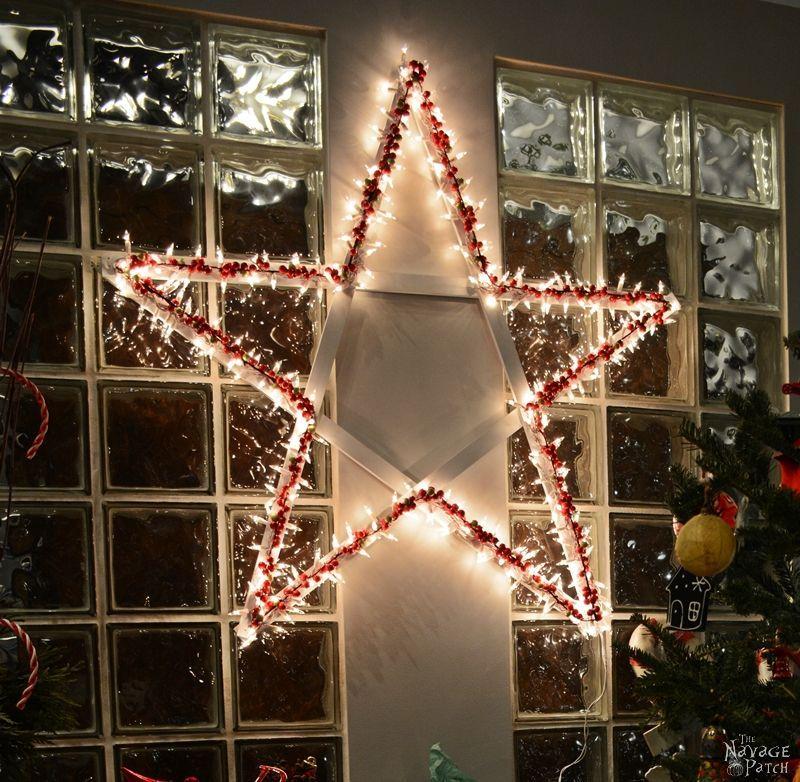 DiY Lighted Christmas Stars | Diy Christmas Decoration | Festive Diy Home  Decor | Upcycled Holiday