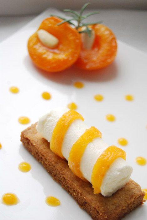 Cheesecake revisité abricot romarin - Rosemary & apricot cheesecake