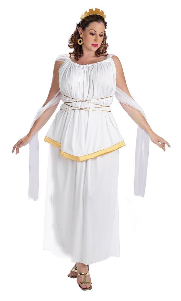 The Grecian Goddess - Plus Size Halloween Costumes wore ...