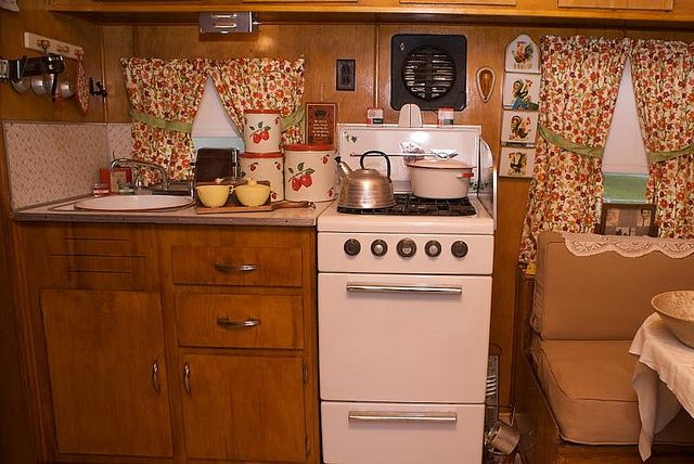 1958 Vintage Yellowstone Travel Trailers.