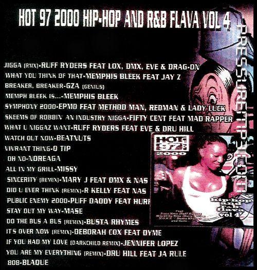 Hot 97 Vol4 Blazin Hip Hop Amp RampB