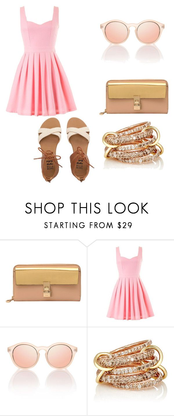 """""""Untitled #281"""" by mackenzie1lacy ❤ liked on Polyvore featuring Chloé, SPINELLI KILCOLLIN and Billabong"""