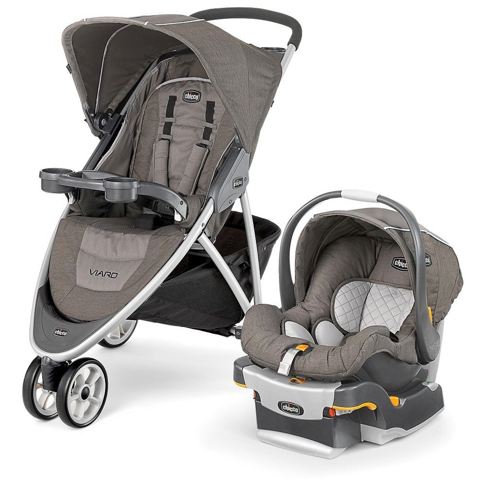 Chicco Viaro Travel System Birch (Brown) Travel system