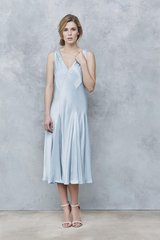 Ghost Chloe Dress Skylight http://www.ghost.co.uk ...