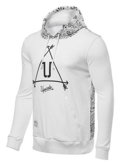 White Pullover Hoodie Men'S
