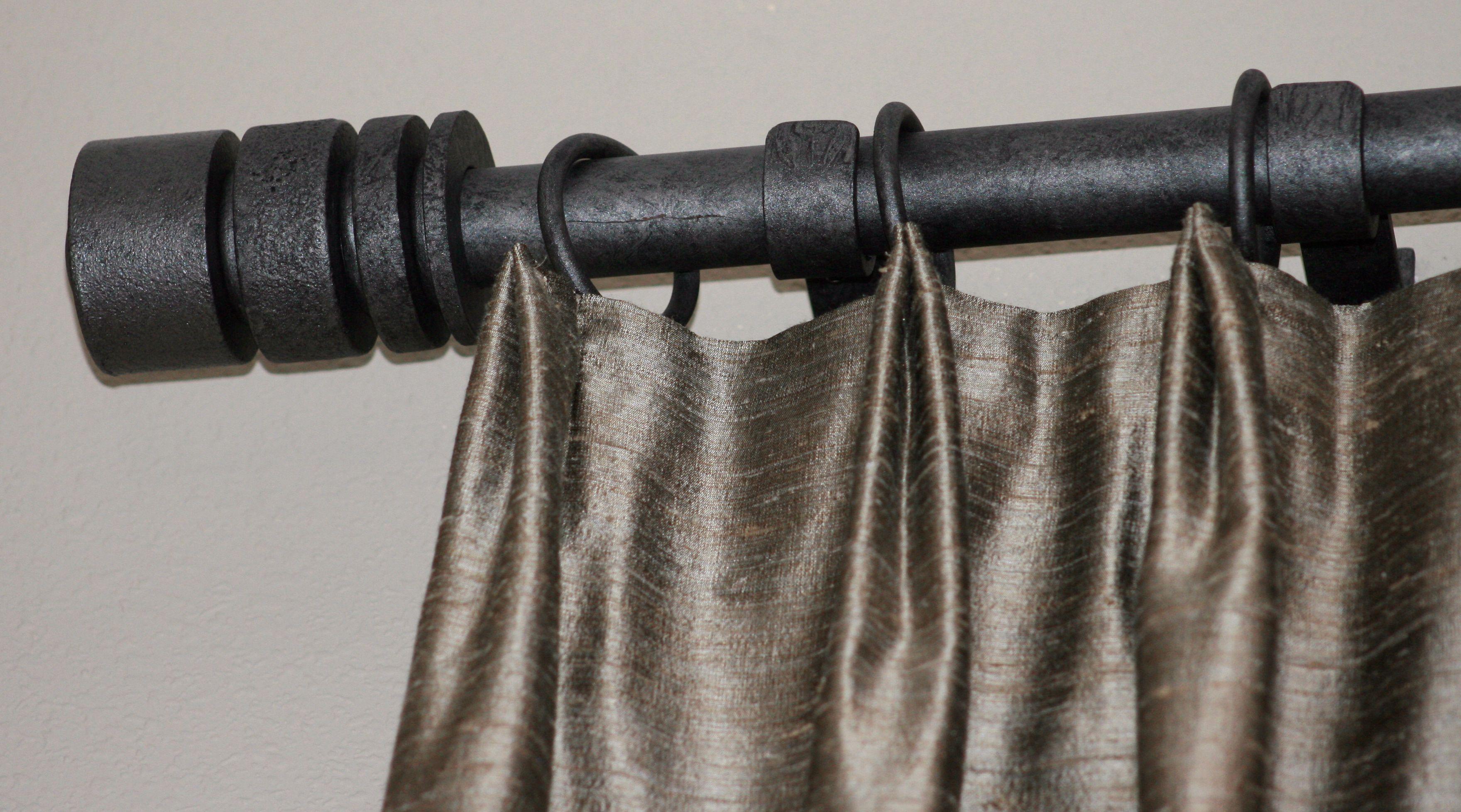 modern drapery hardware-rod iron-Sheri Stouffer/Finishing Touches ...