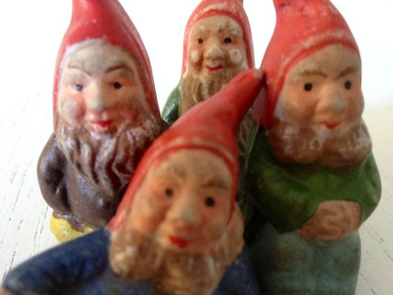 Your Place To Buy And Sell All Things Handmade Gnomes Vintage Figurines