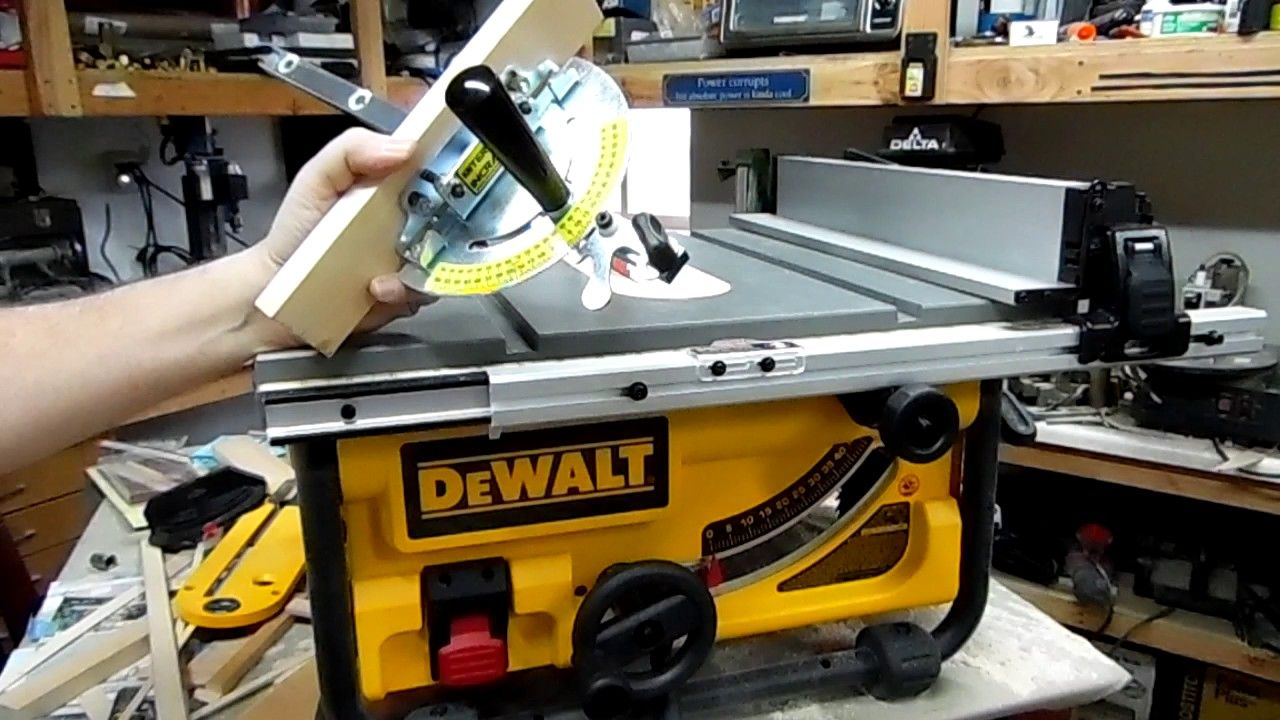 Dewalt Dwe7480 Table Saw Fine Tuned Review Great Hobby Saw