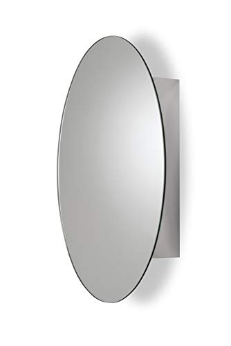 Croydex Tay Stainless Steel Oval Medicine Cabinet Best Offer Storagevat Com In 2020 Stainless Steel Cabinets Steel Shelf Surface Mount Medicine Cabinet