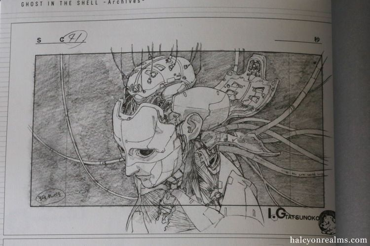 Ghost In The Shell Genga Collection Art Book Review Halcyon Realms Art Book Reviews Anime Manga Film Photography Ghost In The Shell Book Art Art