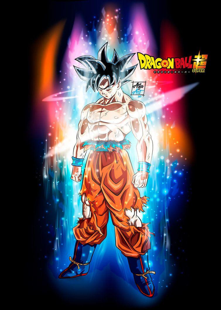 Wallpaper Goku Primer Migatte No Gokui By Alfa Artdeviantartcom