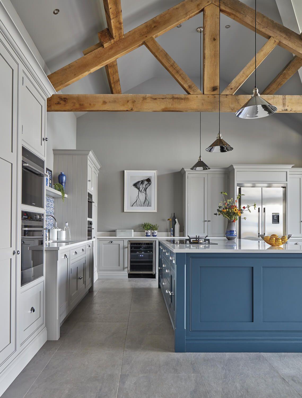 Blue Fitted Kitchen in 2020 Kitchen sale, Elegant