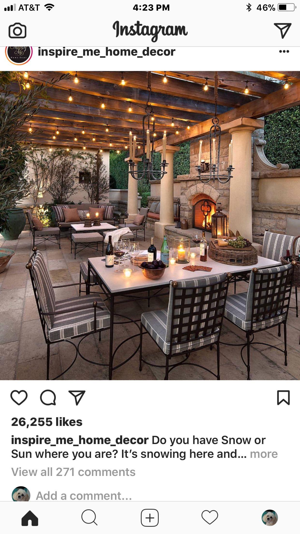 Pin By Yokesha Greene On Outdoor Kitchens Patio Inspiration Outdoor Kitchen Design Mediterranean Style Homes